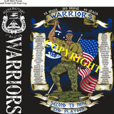 Platoon Shirts (2nd generation print) ALPHA 1st 31st WARRIORS APR 2020
