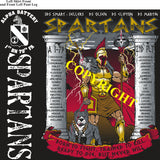 Platoon Shirts (2nd generation print) ALPHA 1st 79th SPARTANS AUG 2020