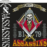 Platoon Shirts (2nd generation print) BRAVO 1ST 79TH ASSASSINS APR 2018