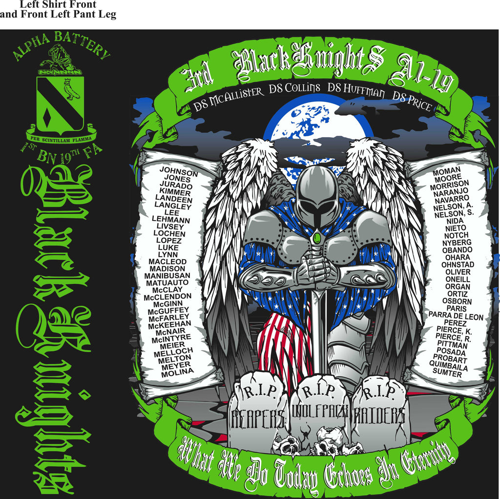 Platoon Shirts (digital) ALPHA 1st 19th BLACK KNIGHTS SEPT 2015