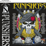 Platoon Shirts (2nd generation print) ALPHA 1st 19th PUNISHERS OCT 2018