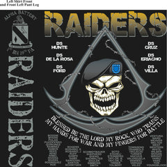 Platoon Shirts (digital) ALPHA 1st 19th RAIDERS SEPT 2015