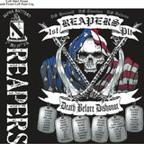 PLATOON SHIRTS (2nd generation print) ALPHA 1st 19th REAPERS DEC 2016