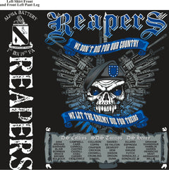 PLATOON SHIRTS (2nd generation print) ALPHA 1st 19th REAPERS JUNE 2017