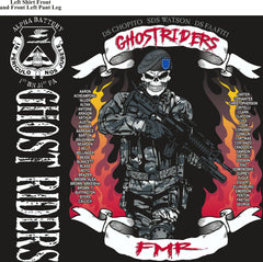 PLATOON SHIRTS (2nd generation print) ALPHA 1st 31st GHOST RIDERS NOV 2016