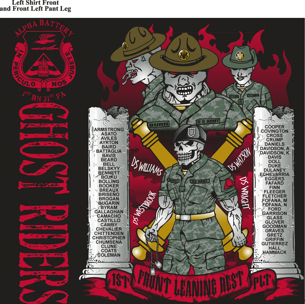 Platoon Shirts (digital) ALPHA 1st 31st GHOST RIDERS AUG 2015