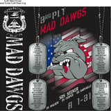 PLATOON SHIRTS (2ND GENERATION PRINT) ALPHA 1ST 31ST MADDAWGS AUG 2017