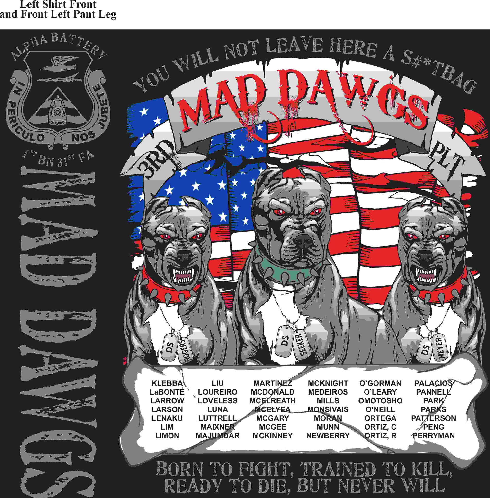 PLATOON SHIRTS (digital) ALPHA 1st 31st MAD DAWGS FEB 2016