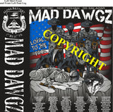 Platoon Shirts (2nd generation print) ALPHA 1st 31st MAD DAWGZ OCT 2019