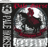 Platoon Shirts (2nd generation print) ALPHA 1st 31st PALE HORSE JUNE 2018