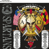 Platoon Shirts (digital) ALPHA 1st 31st SPARTANS MAY 2015