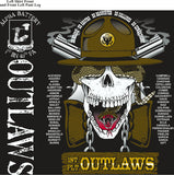 PLATOON SHIRTS (2nd generation print) ALPHA 1st 40th OUTLAWS MAY 2017