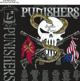 PLATOON SHIRTS (2nd generation print) ALPHA 1st 40th PUNISHERS SEPT 2016