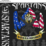 PLATOON SHIRTS (2nd generation print) ALPHA 1st 40th SPARTANS MAR 2016