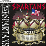 PLATOON SHIRTS (2nd generation print) ALPHA 1st 40th SPARTANS MAY 2017