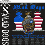PLATOON SHIRTS (2nd generation print) ALPHA 1st 79th MADDOGS SEPT 2016