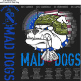 PLATOON SHIRTS (2nd generation print) ALPHA 1st 79th MADDOGS MAR 2016