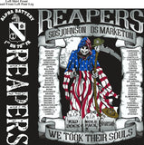 Platoon Shirts (2nd generation print) ALPHA 1ST 79TH REAPERS DEC 2017