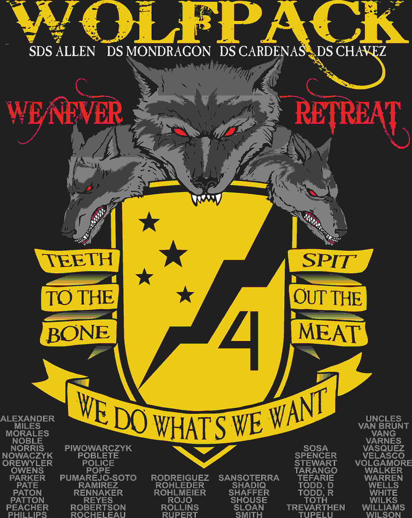 PLATOON SHIRTS (digital) ALPHA 1st 79th WOLFPACK NOV 2015