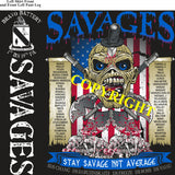 Platoon Shirts (2nd generation print) BRAVO 1st 19th SAVAGES OCT 2020