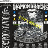 Platoon Shirts (2nd generation print) BRAVO 1st 40th DIAMONDBACKS JAN 2021