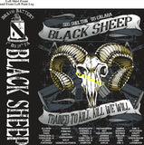 Platoon Shirts (2nd generation print) BRAVO 1st 19th BLACK SHEEP NOV 2018