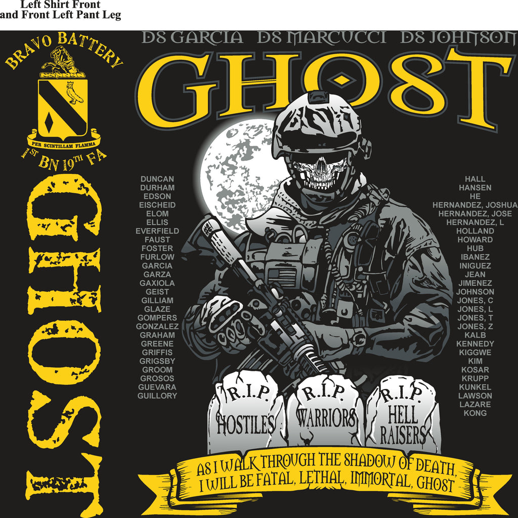 Platoon Shirts (digital) BRAVO 1st 19th GHOST APR 2015