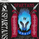 PLATOON SHIRTS (2ND GENERATION PRINT) ECHO 1st 19th SPARTANS AUG 2017