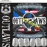 Platoon Shirts (2nd generation print) BRAVO 1st 31st OUTLAWS FEB 2020