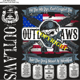 Platoon Shirts (2nd generation print) BRAVO 1st 31st OUTLAWS MAY 2019