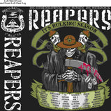 PLATOON SHIRTS (2nd generation print) BRAVO 1st 31st REAPERS MAR 2016