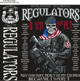 Platoon Shirts (2nd generation print) BRAVO 1st 31st REGULATORS AUG 2018