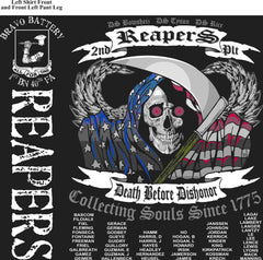 PLATOON SHIRTS (digital) BRAVO 1st 40th REAPERS JAN 2016