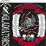 Platoon Shirts (2nd generation print) BRAVO 1ST 79TH GLADIATORS DEC 2017