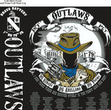 Platoon Shirts (2nd generation print) BRAVO 1ST 79TH OUTLAWS DEC 2017