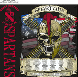 PLATOON SHIRTS (2nd generation print) BRAVO 1st 79th SPARTANS AUG 2016