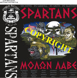 Platoon Shirts (2nd generation print) CHARLIE 1st 31st SPARTANS JULY 2020