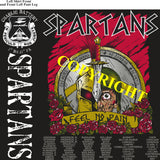Platoon Shirts (2nd generation print) CHARLIE 1st 31st SPARTANS OCT 2020