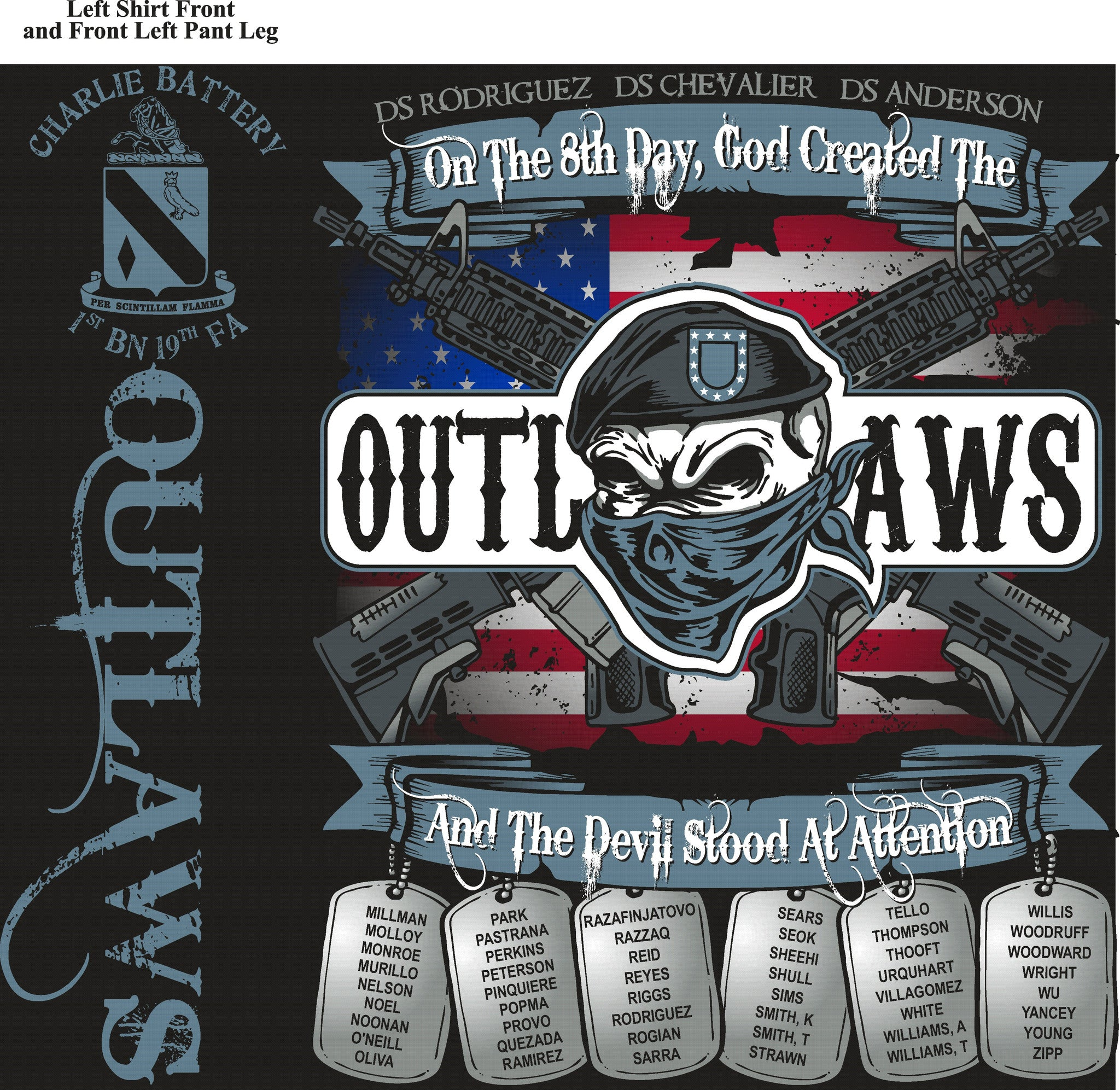 PLATOON SHIRTS (digital) CHARLIE 1st 19th OUTLAWS NOV 2015
