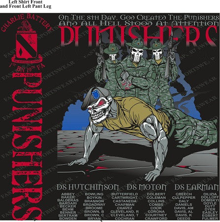 Platoon Shirts (digital) Charlie 1st 19th PUNISHERS FEB 2015