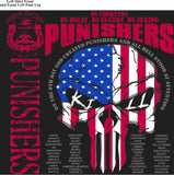 PLATOON SHIRTS (2nd generation print) CHARLIE 1st 31st PUNISHERS APR 2016