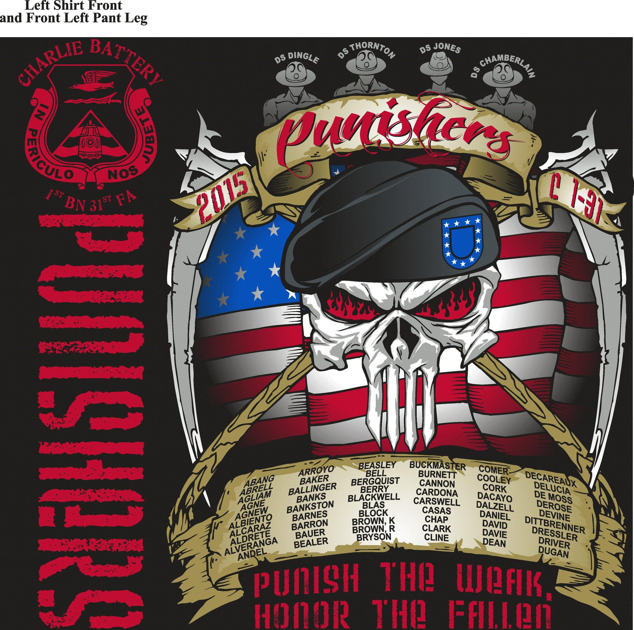 PLATOON SHIRTS (digital) CHARLE 1st 31st PUNISHERS OCT 2015