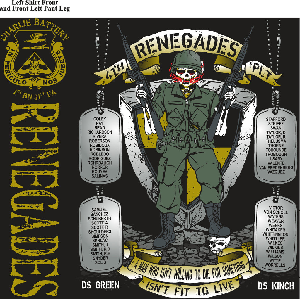 Platoon Shirts (digital) CHARLIE 1st 31st RENEGADES JAN 2015