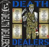 Platoon Shirts (2nd generation print) CHARLIE 1ST 40TH DEATH DEALERS NOV 2017