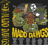 PLATOON SHIRTS (2nd generation print) CHARLIE 1st 40th MADD DAWGS MAY 2016