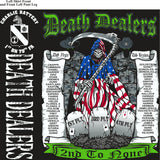 Platoon Shirts (2nd generation print) CHARLIE 1st 79th DEATH DEALERS AUG 2018