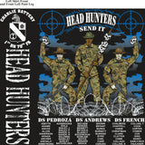 Platoon Shirts (2nd generation print) CHARLIE 1st 79th HEAD HUNTERS AUG 2018