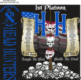 PLATOON SHIRTS (2nd generation print) CHARLIE 1st 79th HEAD HUNTERS JULY 2016