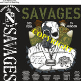 Platoon Shirts (2nd generation print) CHARLIE 1st 79th SAVAGES MAY 2019