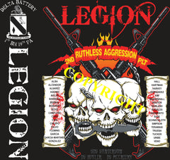 Platoon Shirts (2nd generation print) DELTA 1st 19th LEGION OCT 2020